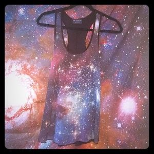 The Clas-sic Galaxy tank top!🖤